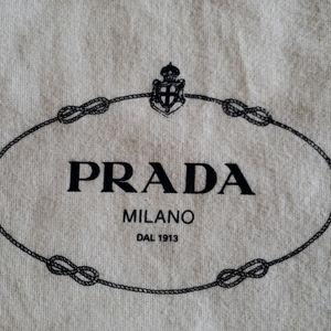 Prada Italian Dust Bag